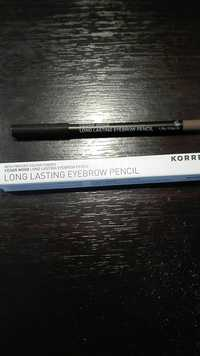 KORRES - Long lasting eyebrow pencil