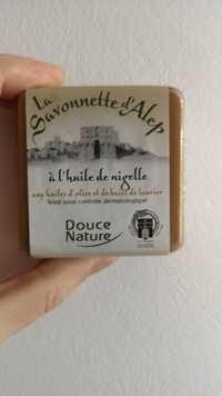 Douce Nature - La savonnette d'Alep à l'huile de nigelle