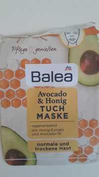 Balea - Avocado & Honig - Tuch maske