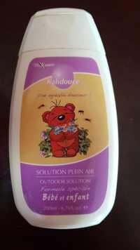 Vita Santé - Kalidouce - Solution plein air bébé et enfant