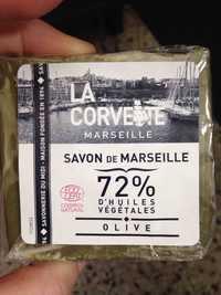 LA CORVETTE MARSEILLE - Savon de Marseille olive