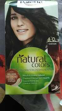 Schwarzkopf - Palette natural colors - Coloration permanente châtain 4-0