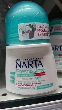 NARTA - Freshissime - anti-transpirant 48H