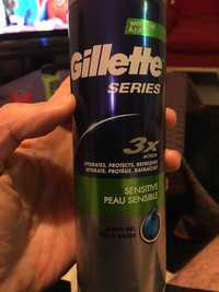 GILLETTE - Series sensitive - Gel à raser peau sensible