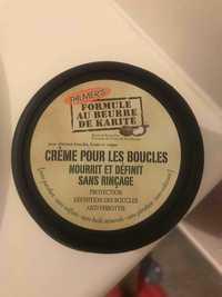 PALMER'S - Formule au beurre de karité - Crème pour les boucles