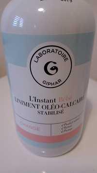 Giphar - L'instant bébé - Liniment oléo-calcaire stabilisé