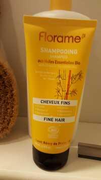 FLORAME - Shampooing aux huiles essentielles bio