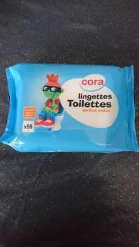 Cora - Lingettes toilettes