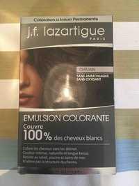 J.F. LAZARTIGUE - Emulsion colorante - Coloration à tenue permanente châtain