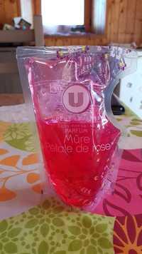 BY U - Parfum mûre & pétale de rose - Crème lavante