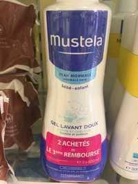 Mustela - Peau normal bébé - Gel lavant doux