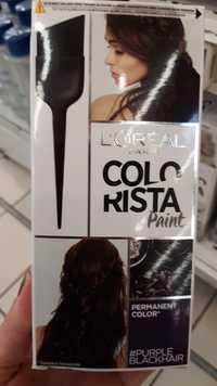 L'ORÉAL - Colorista Paint - Permanent color pruple black hair