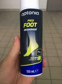 APTONIA - Déodorant pied