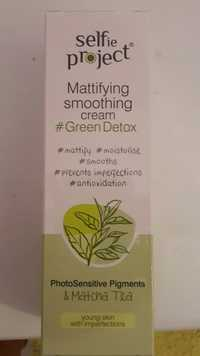 SELFIE PROJECT - Green detox - Mattifying smoothing cream