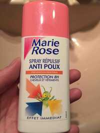 Marie Rose - Spray répulsif anti-poux protection 8h
