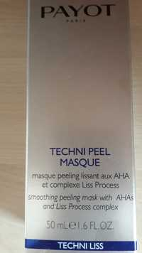 Payot - Techni liss - Masque peeling lissant