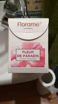 FLORAME - Fleur de paradis - Le parfum