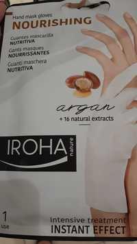 IROHA NATURE - Gants masques nourrissantes