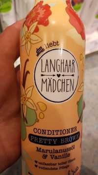 Dm - Langhaarmädchen pretty brown - Conditioner marulanssöl & vanille