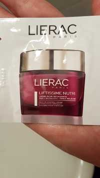 LIÉRAC - Liftissime nutri - Crème riche regalbante