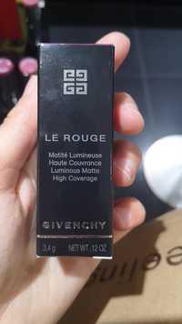 Givenchy - Le rouge - Matité lumineuse haute couvrance