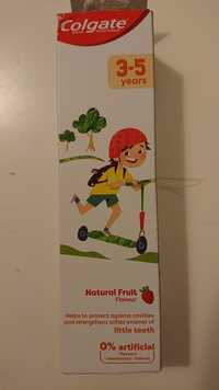COLGATE - Fluoride toothpaste 3-5 years natural fruit flavour