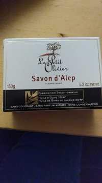 LE PETIT OLIVIER - Savon d'Alep