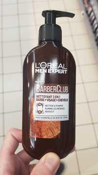 L'ORÉAL MEN EXPERT - Barber Club - Nettoyant 3 en 1 barbe, visage et cheveux