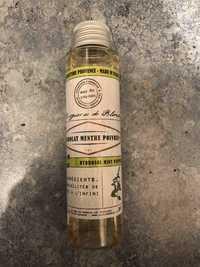 Mas de Roseau - Hydrolat menthe poivrée