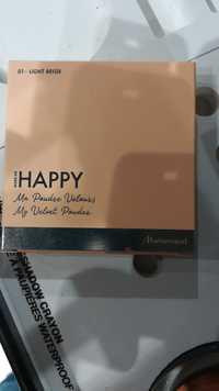 MARIONNAUD - Make me happy - Ma poudre velours 01 light beige
