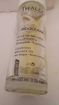 Thalgo - Indoceane - Huile de massage vuluptueuse