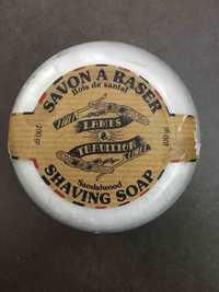 LAMES & TRADITION - Bois de santal - Savon à raser