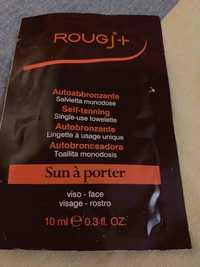ROUGJ - Sun à porter - Autobronzante lingette à usage unique