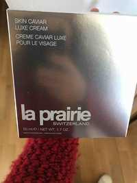 La prairie - Crème caviar luxe pour le visage