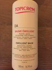 TOPICREM - DA - Baume émollient