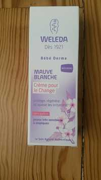Weleda - Bébé derma - Crème pour le change à la mauve blanche