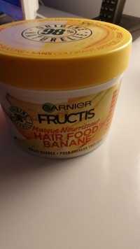 GARNIER - Fructis hair food - Masque nourissant banane
