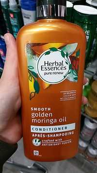 Herbal essences - Smooth golden moringa oil - Après-shampooing