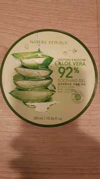 Nature Republic - Aloe vera 92% - Soothing & moisture gel