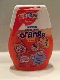 AUCHAN - Rik & Rok - Dentifrice liquide enfant goût orange