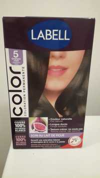 LABELL - Color coloration permanente - 5 châtain clair
