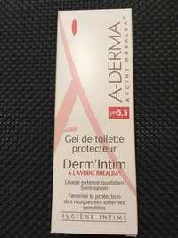 A-Derma - Hygiène intime - Gel de toilette protecteur