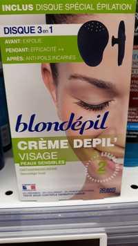 Blondépil - Crème depil' visage