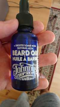 JOHNNY'S CHOP SHOP - Huile à barbe