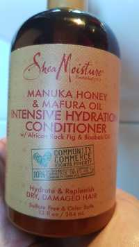 SHEA MOISTURE - Manuka honey & mafura oil - Intensive hydration conditioner