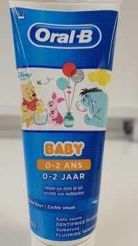 ORAL-B - Dentifrice fluoré baby