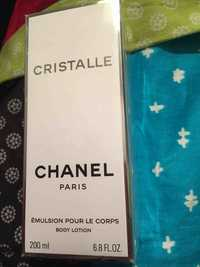 CHANEL - Cristalle - Body lotion