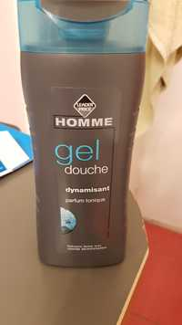 Leader Price - Homme dynamisant - Gel douche
