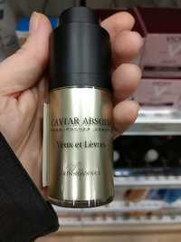 My Skinadvance - Caviar absolu - Yeux et lèvres