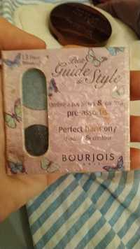 Bourjois - Petid Guide de Style - Ombre à paupières & Contour pré-assortis 13 Fleur Bleue